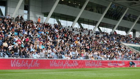JOIN THE FAMILY: City Women play their home games at the Academy Stadium