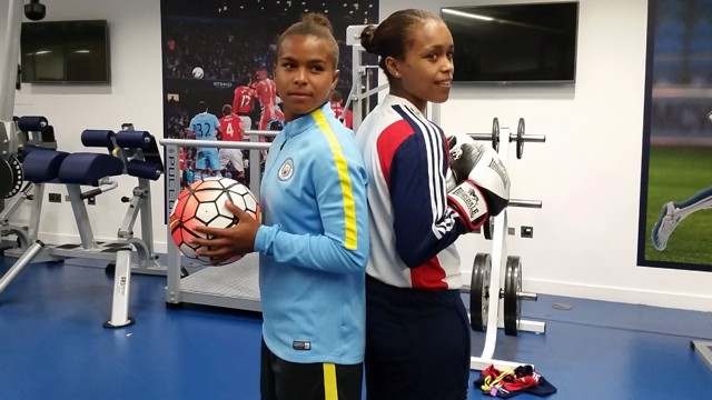 SPECIAL SIBLINGS: Nikita Parris (footballer) and Natasha Jonas (Olympic boxer)