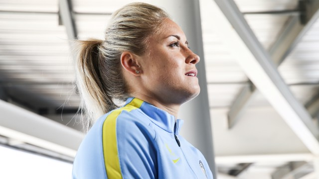 SUPER SKIPPER: City and England captain Steph Houghton received an MBE at Buckingham Palace