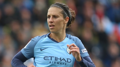 STAR QUALITY: Carli Lloyd has slotted seamlessly into Nick Cushing's side