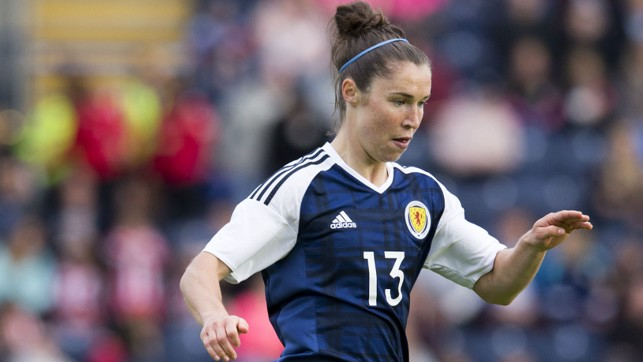 NEW CHALLENGE: Jane Ross will lead the line for Scotland in their first ever European Championships.