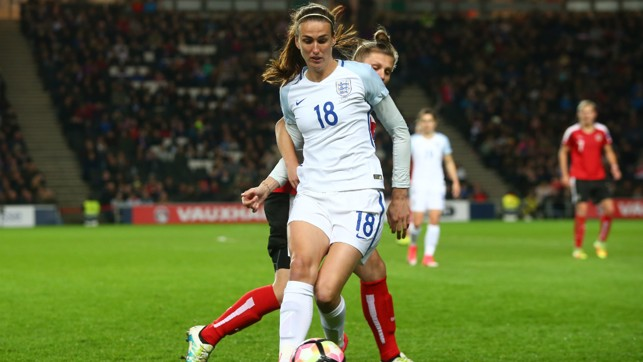 MIDFIELD MAESTRO: Jill Scott is likely to be involved in the group games with Scotland, Spain and Portugal.