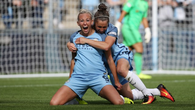 ICE COOL: Converting the penalty to seal City's first league title