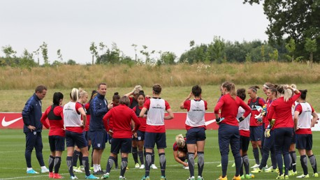 LIONESSES: Man City Women will have eight representatives in the England team at Euro 2017