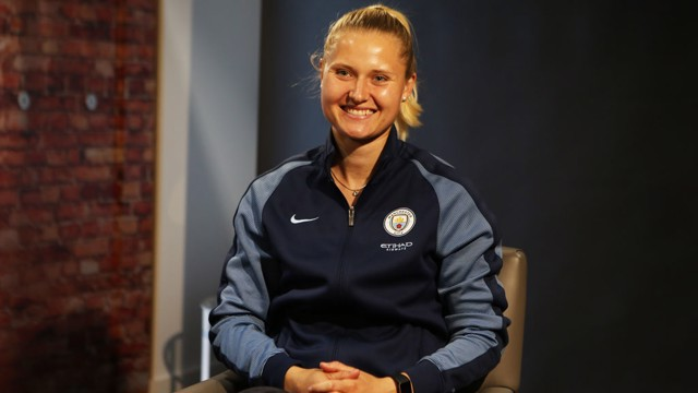 NEW RECRUIT: Mie Jans will join Man City Women on 1 July