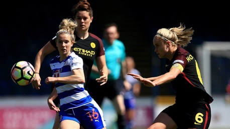 Match action: Reading 2-3 Man City Women