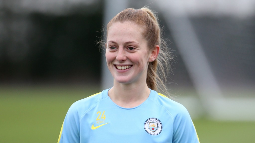 Image result for keira walsh man city 2017/18