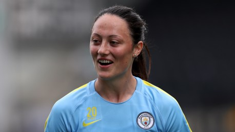 SPECIALIST: Megan Campbell played a key role in Man City Women's 3-2 win at Reading, thanks to her long throws