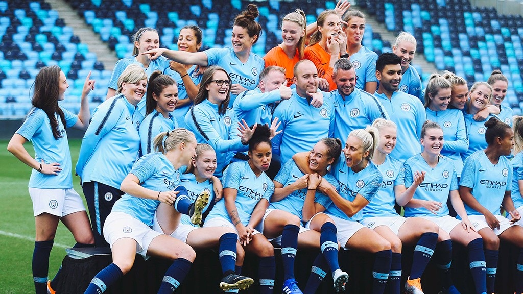 Image result for manchester city men and women
