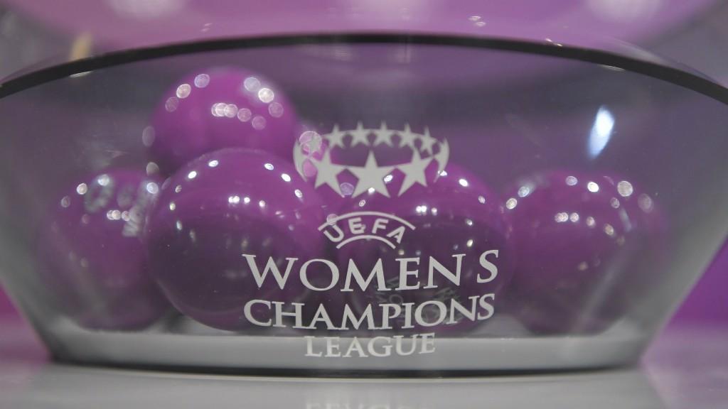 CHAMPIONS LEAGUE: The Women's Champions League draw...