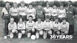 THE MAN WHO STARTED IT ALL: Neil Mather and City's women's team of 1989