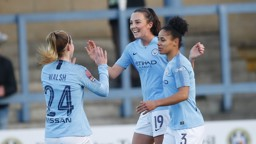 WONDERWEIR: Caroline Weir was on the scoresheet again, against Yeovil