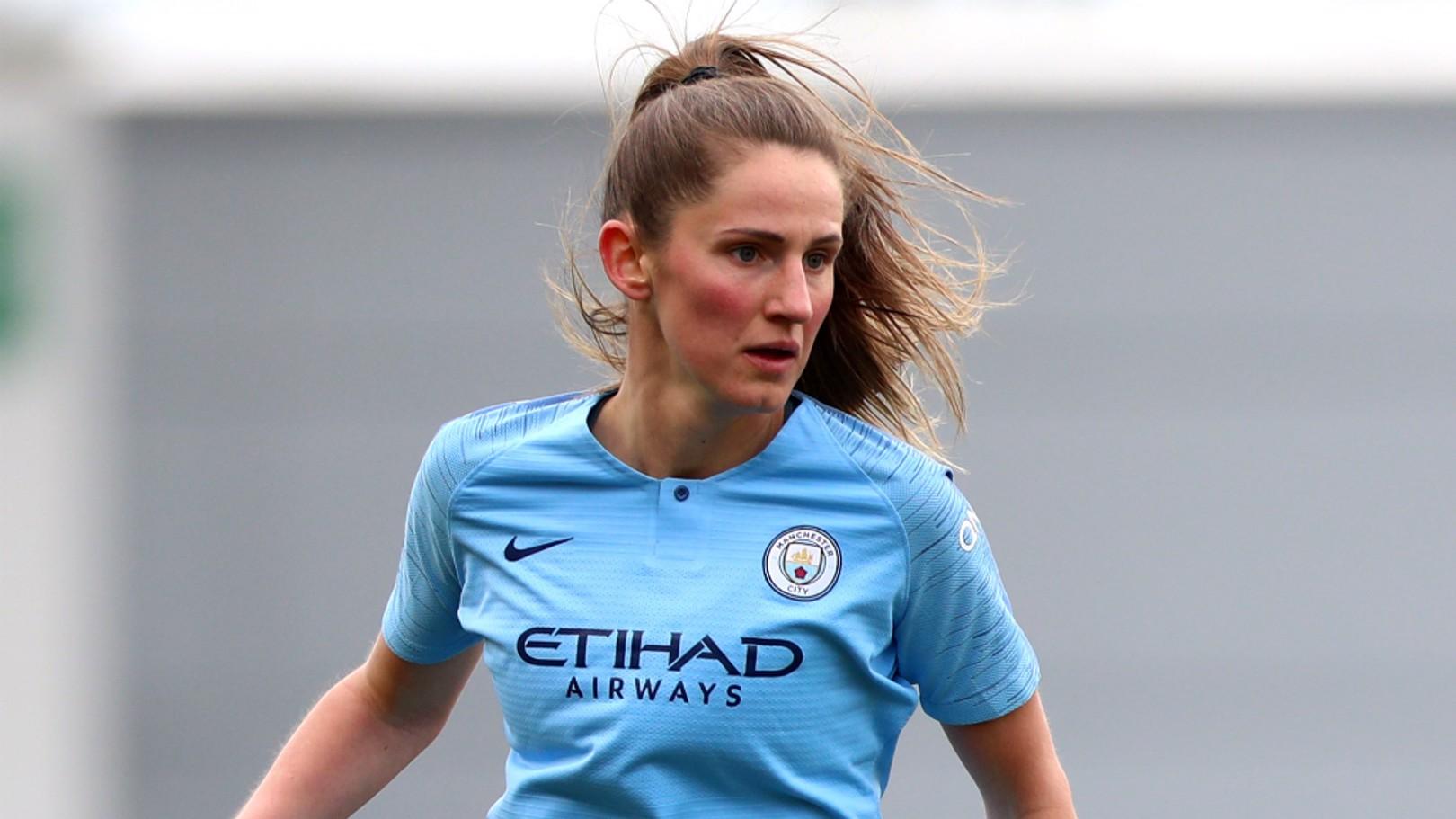 DEPARTURE: Abbie McManus has left the Club