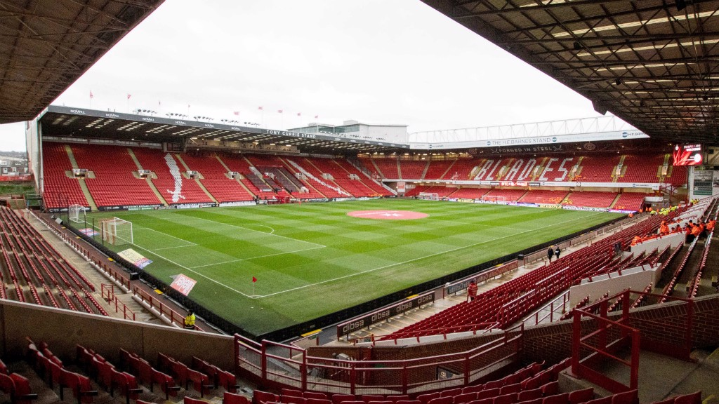 BRAMALL LANE: The home of Sheffield United plays host to the 2019 Continental Cup Final