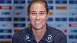 SAFE HANDS: City and England goalkeeper Karen Bardsley in focus...