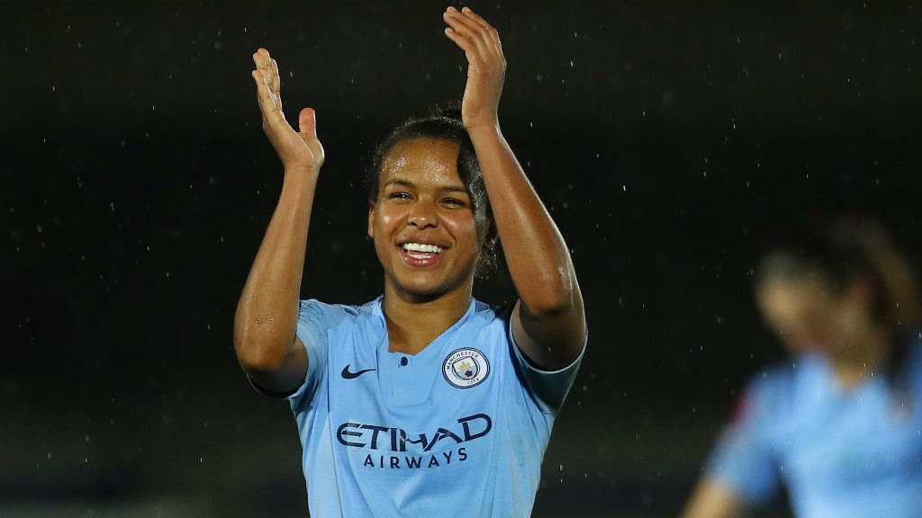 PARRIS LIFE: Two more goals for Nikita Parris!