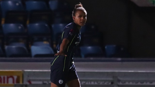 PARRIS LIFE: Another day, another goal - or three - for Nikita Parris...