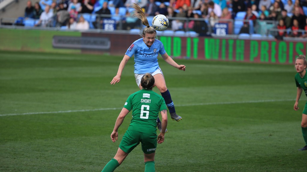 City seal win in final home game