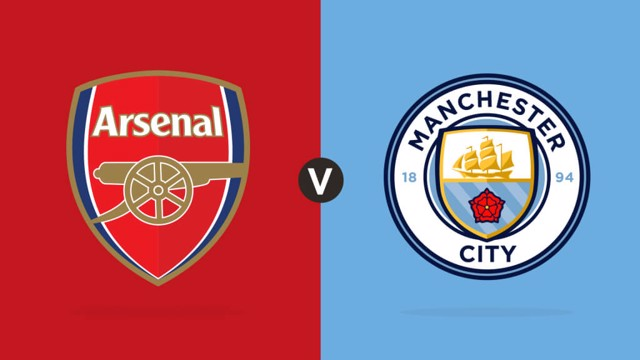 Which TV Channel is Man City v Arsenal on?