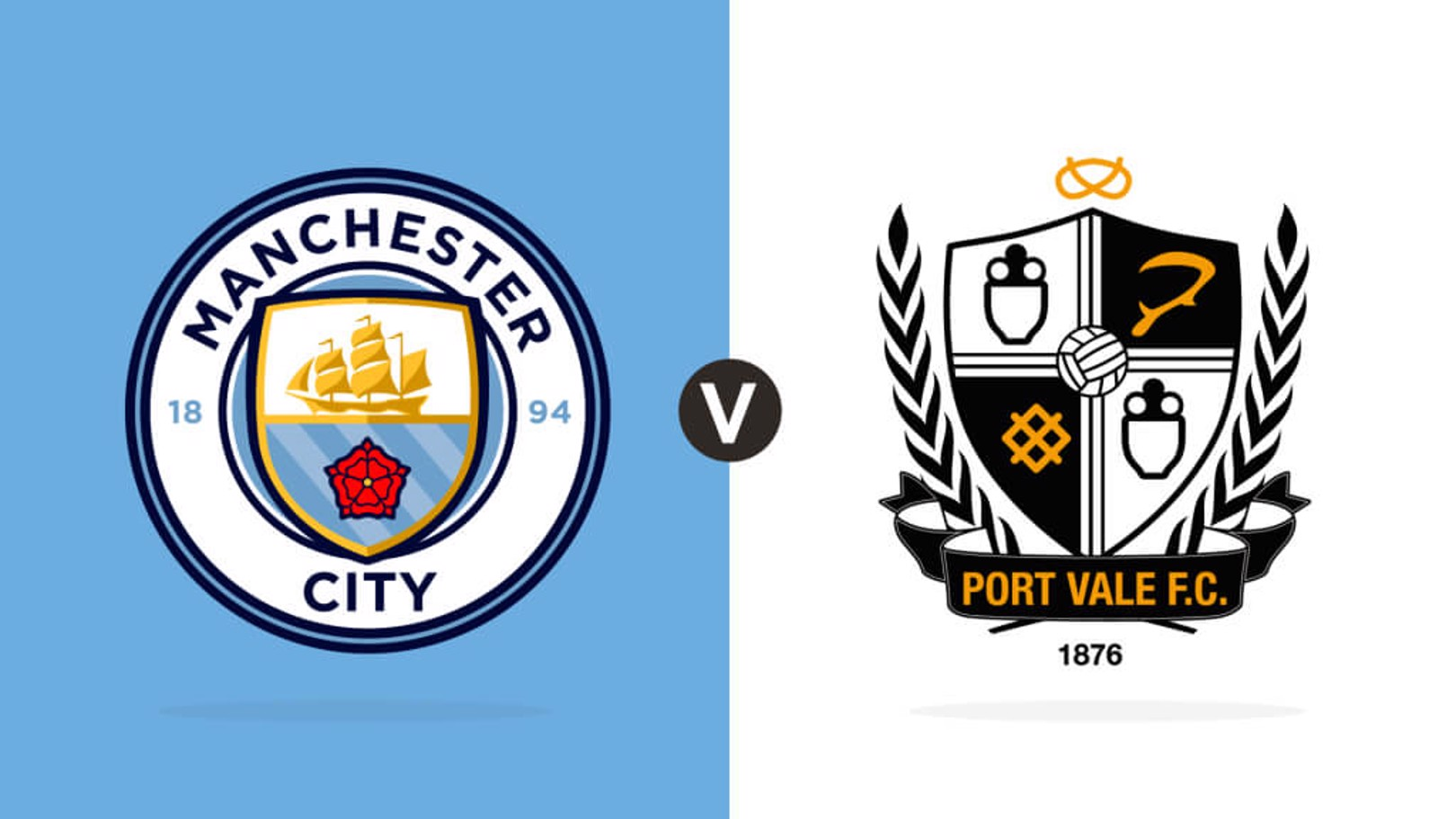 Man City v Port Vale