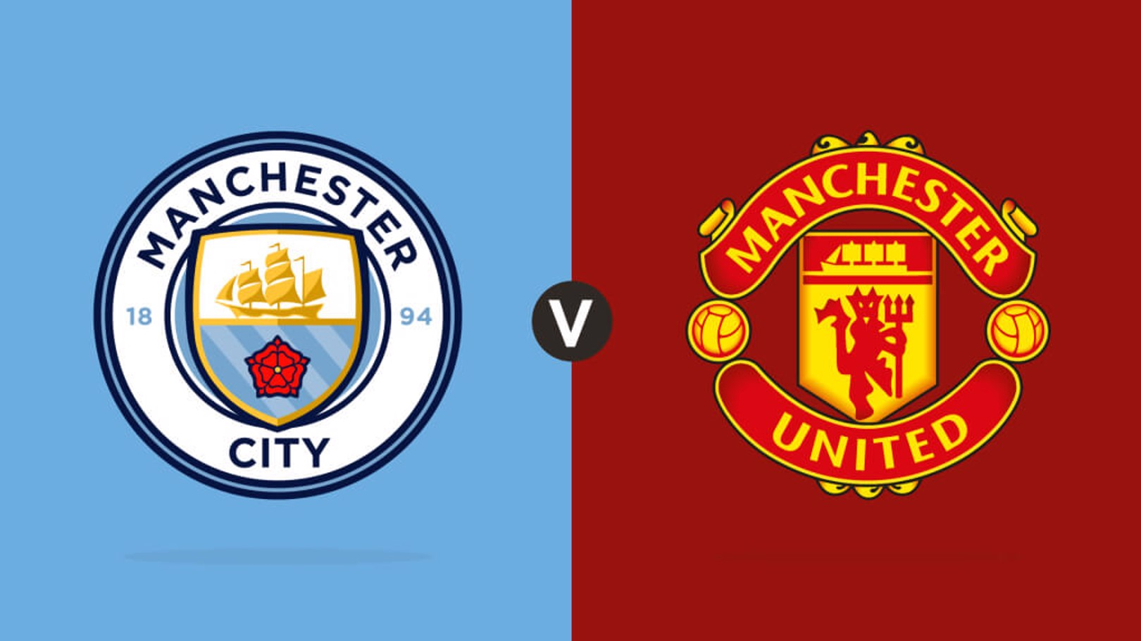 Manchester City v Manchester United LIVE MATCH