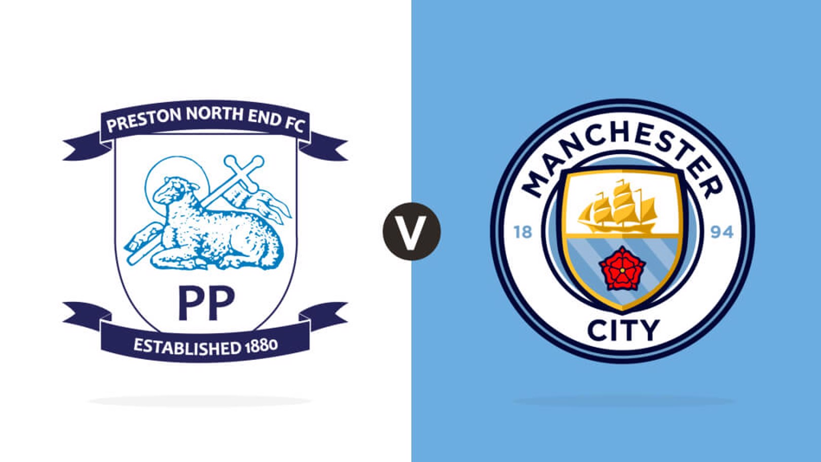 Preston v City Crests