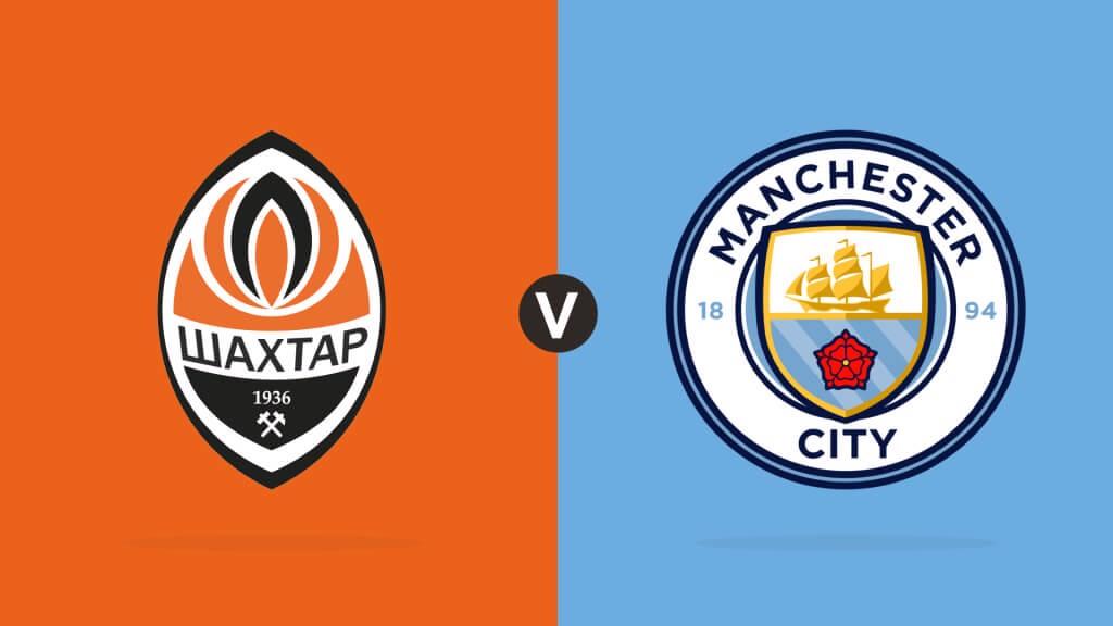 FC Shakhtar Donetsk v Manchester City Match Day Centre LIVE