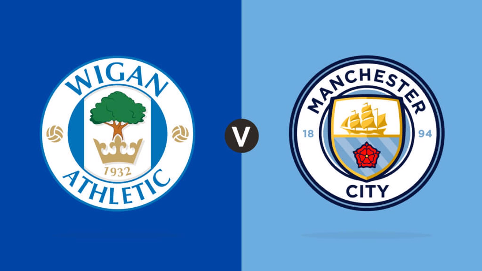 Wigan Athletic v Manchester City