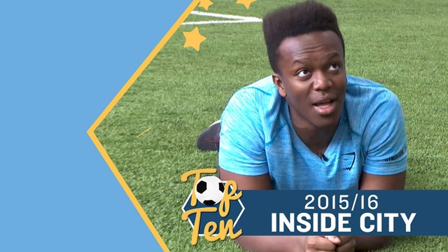 Inside City Top Ten 2015/16