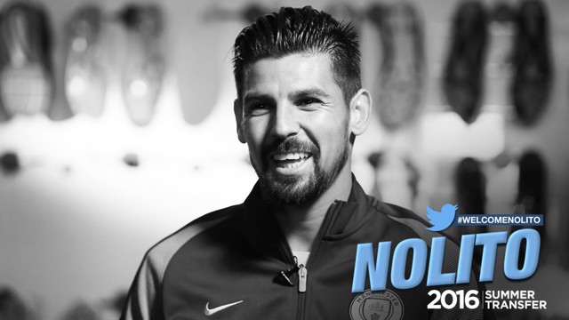 Nolito signs for City