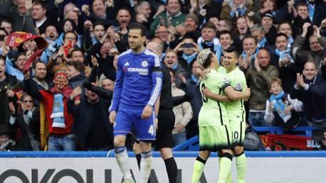 Chelsea v City: Brief highlights