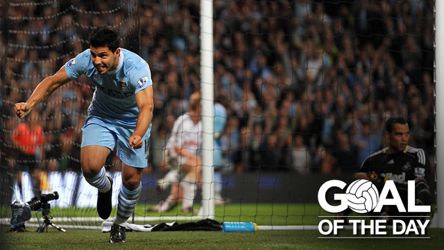 ON HIS DEBUT: Sergio Aguero did this!