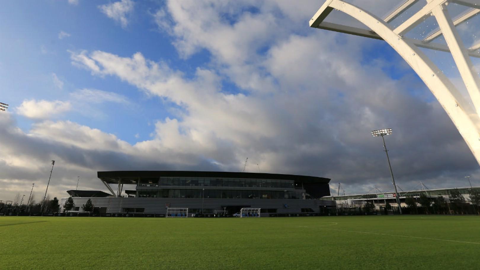 CFA: The City Football Academy shines in the summer sun.