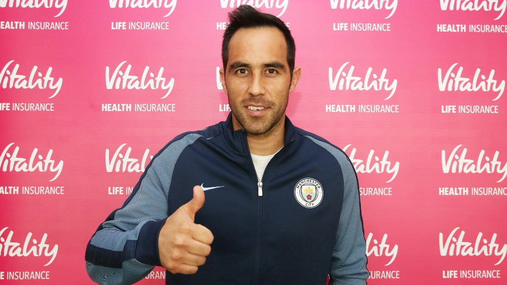 BRAVO! Claudio is now a City player