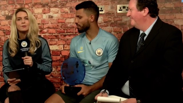 AWARDS: Sergio Aguero