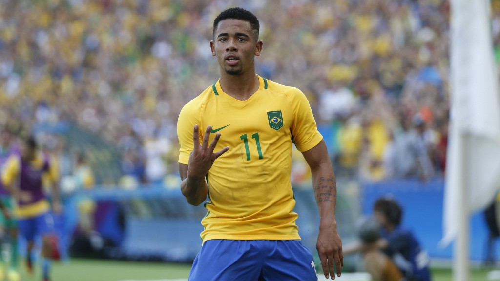 GOING FOR GOLD: Gabriel Jesus