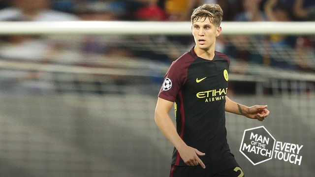 STONE HOT: John Stones has impressed at his new club