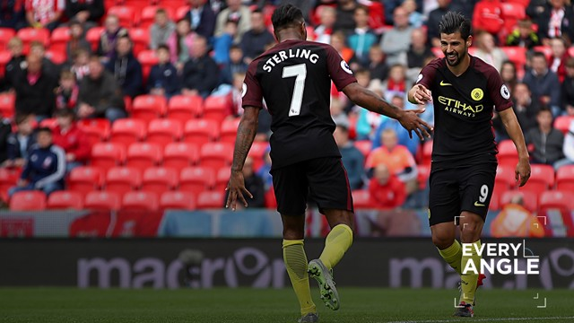SUPER SUB: Nolito capped a fine performance off the bench as he netted City's third and fourth goals.