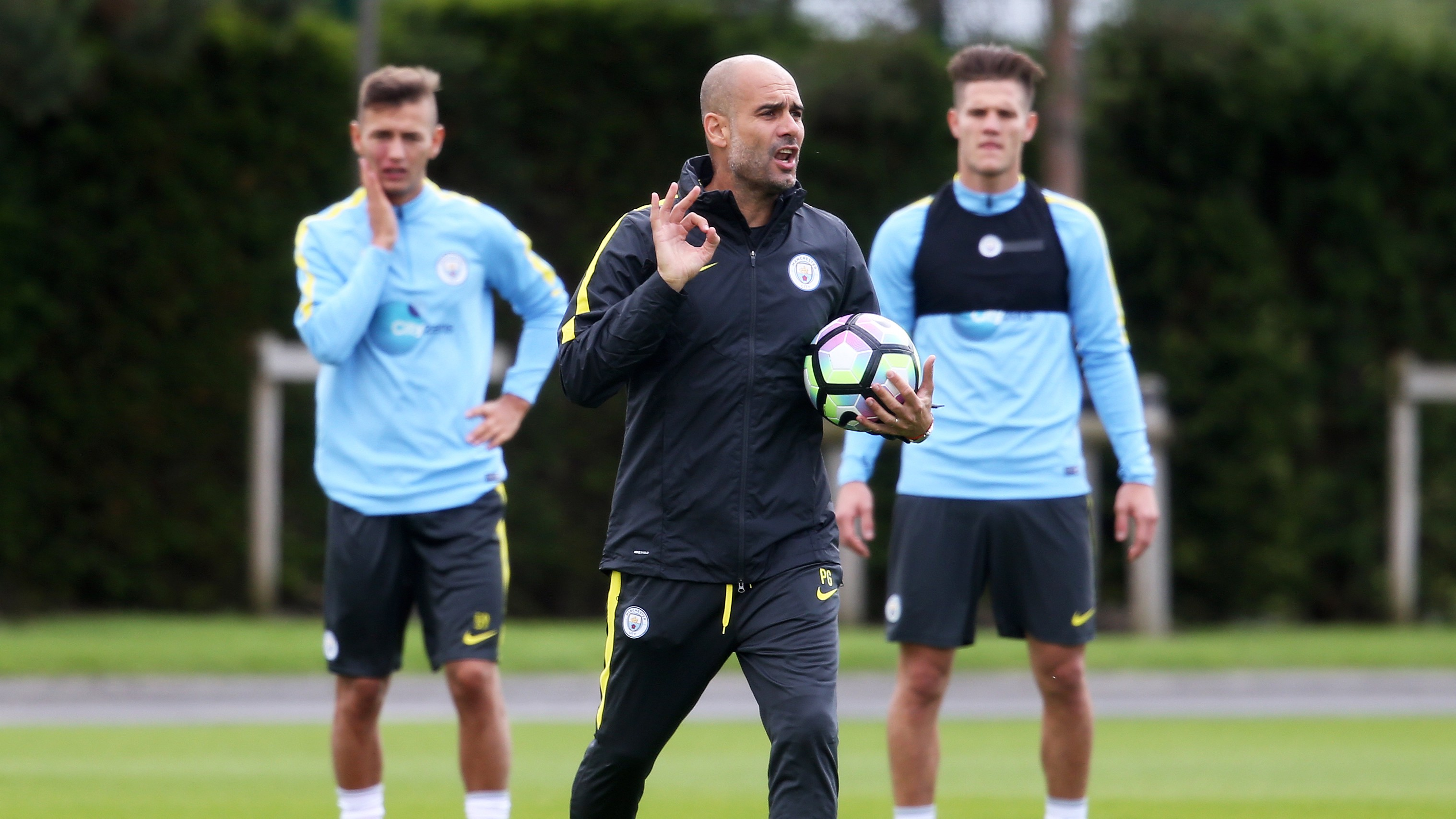 "Pep calls for an ""aggressive"" City"