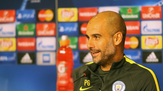 PRESS CONFERENCE: Watch Pep and John Stones in Romania