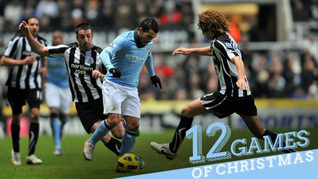 TEVEZ: City's Argentinian cuts through Newcastle's defence once again