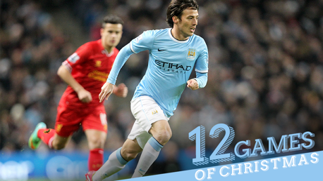 The 12 games of Christmas #3: City v L'pool 2013