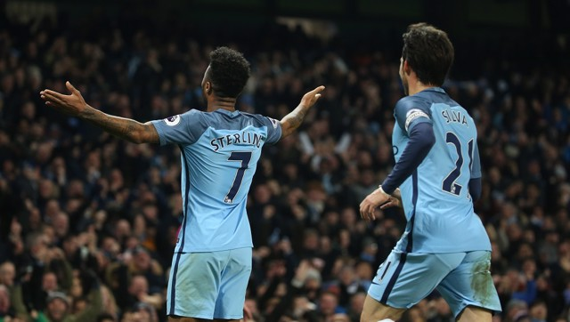 I AM LEGEND: Raheem enjoys the moment