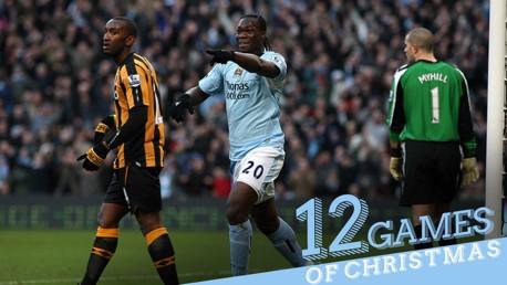 12 games of Christmas #7: City 5-1 Hull 2008