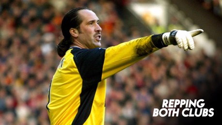 SAFE HANDS: David Seaman played for both clubs