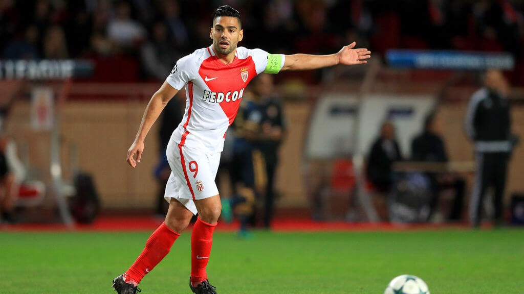 GOALS: Falcao has been in fine form this term