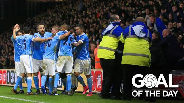 GOTD: Aguero v Watford