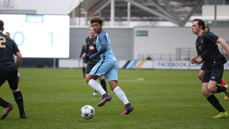 UEFA Youth League action: City v Celtic