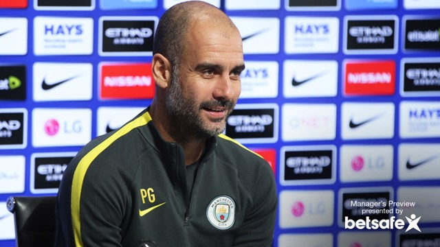 PEP GUARDIOLA: Boss speaks at Press conference ahead of Liverpool