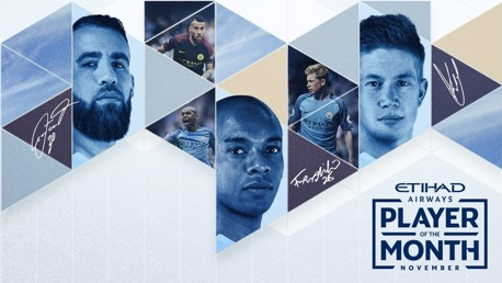 Player of the Month: Who gets your vote?